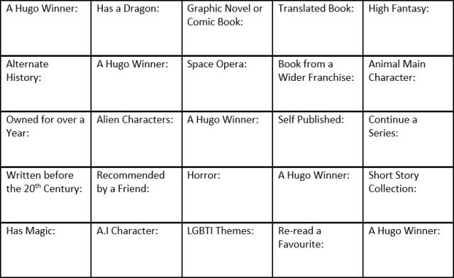 2017book-bingo
